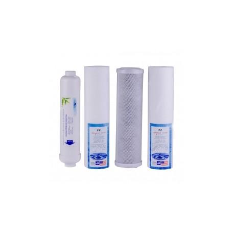 Vízszűrő készlet 4 db-os ozmózis víztisztítókhoz