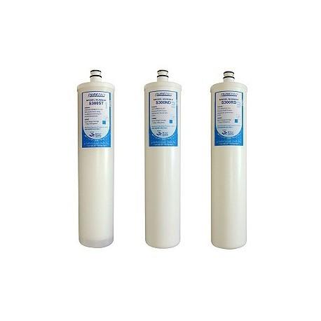 Szűrőbetét PurePro  csomag-3db ''S'' széria  RO víztisztító berendezéshez