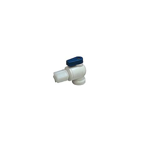 """Elzárócsap víztartályokhoz 1/4""""x1/4"""" ( Jaco íves könyök)"""