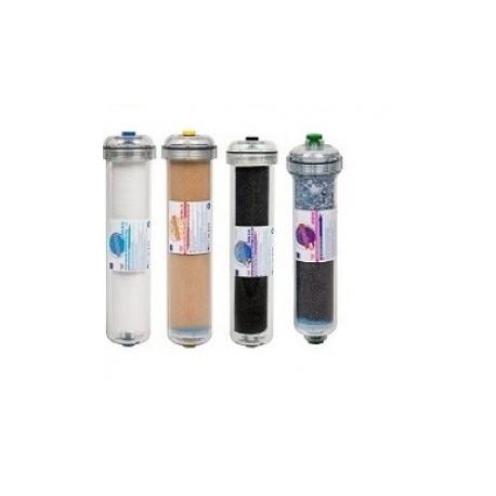EXCITO-CL 5 lépcsős lúgosító, antibakteriális víztisztítóhoz szűrőcsomag