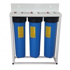Központi víztisztító 3-szűrős nagy teljesítményű antibakteriális.