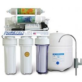 PurePro víztisztító szűrőrendszer RO106MP visszasózóval nyomásnövelővel