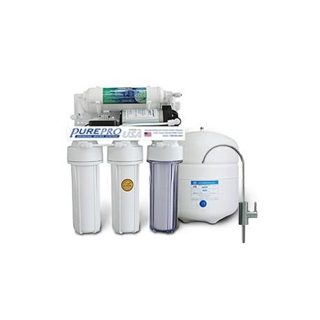 PurePro RO105P Háztartási RO Víztisztító nyomásnövelővel