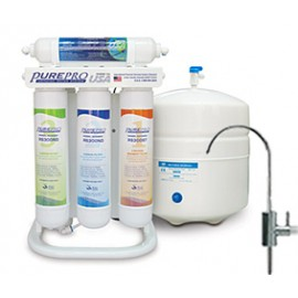PurePro ERS-105 víztisztító készülék nyomásfokozóval gyors csatlakozós