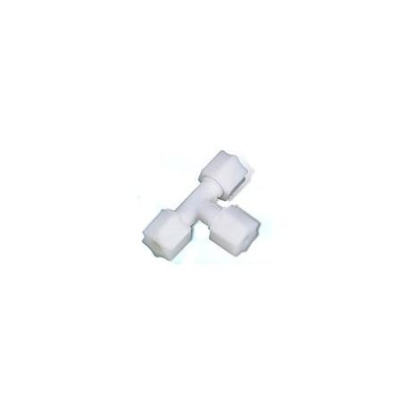 T-csatlakozó idom 1/4x1/4x1/4-es