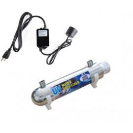 UV lámpa egység ozmózis víztisztító berendezésekhez UV-101, 6W, 1GPM