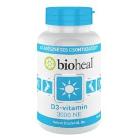 Bioheal D3-vitamin 3000 NE 70-db