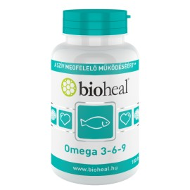 Bioheal Omega 3 - 6 - 9- lágykapszula 100-db