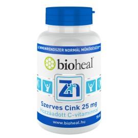 Bioheal Szerves Cink 25 mg 70-db