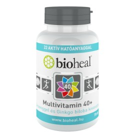 Boiheal Multivitamin 40+ Ginzenggel és Ginkgo biloba kivonattal 70-db