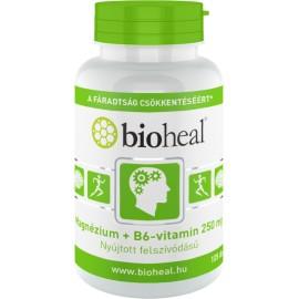Bioheal Magnézium + B6-vitamin 250 mg 70-db