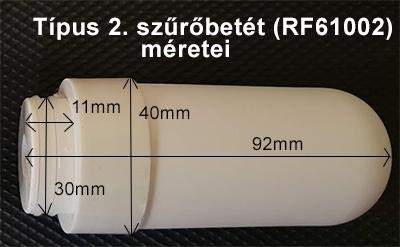 CleanLife kerámia csapszűrő betét Típus-2.
