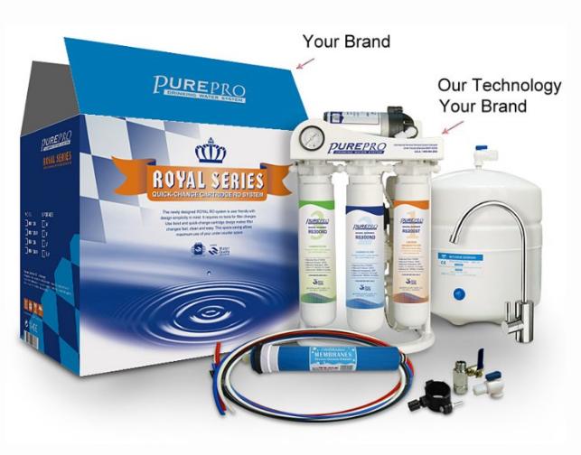 Komplett előszűrő 3db csomagban PurePro ERS-105 gyors csatlakozós készülékhez.