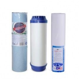 Mosogató alá szerelhető háromfázisú ivóvíztisztító