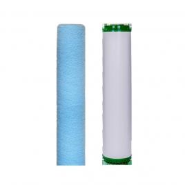 Szűrőkészlet antibakteriális nagy teljesítményű, 2 lépcsős központi víztisztítóhoz