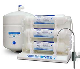 RO víztisztító M500P nyomásfokozóva
