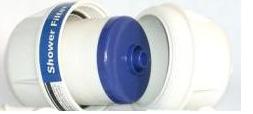 AquaSpirit SH-1 KDF töltetű zuhanyszűrő betét.