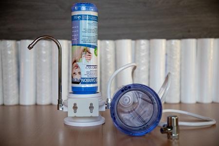 Asztali víztisztító GAC szűrőbetéttel