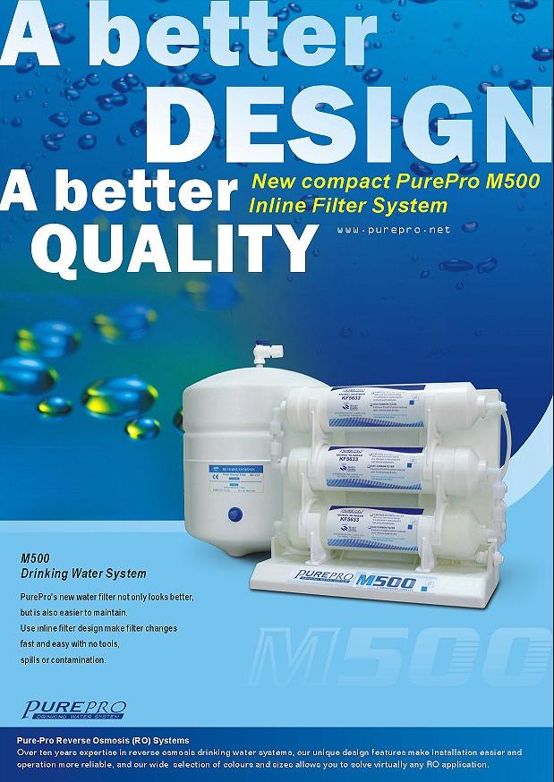 PruePro M500 RO víztisztító szűrőrendszer