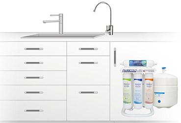 PurePro ERS-105 víztisztító készülék gyors csatlakozós